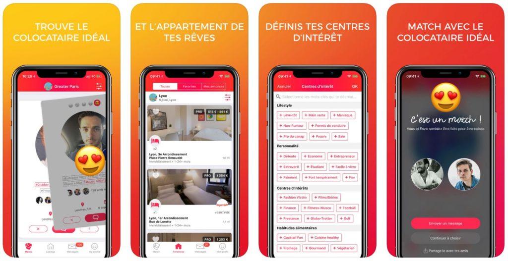 App du jour : Whoomies - Colocation, Appart (iPhone - gratuit)