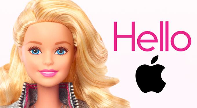 Siri : Apple rachète l'entreprise PullString, qui a développé un jouet Barbie