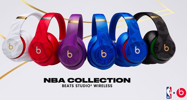 Beats Studio 3 Collection NBA - Apple : de nouveaux casques Beats Studio 3 aux couleurs de la NBA !