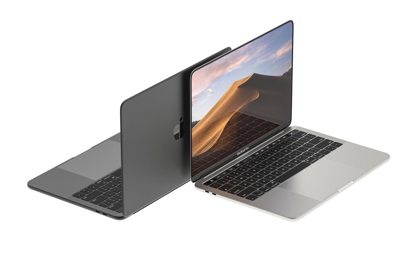 Apple : et si le futur Macbook Pro avait Face ID et un écran OLED bord à bord ?