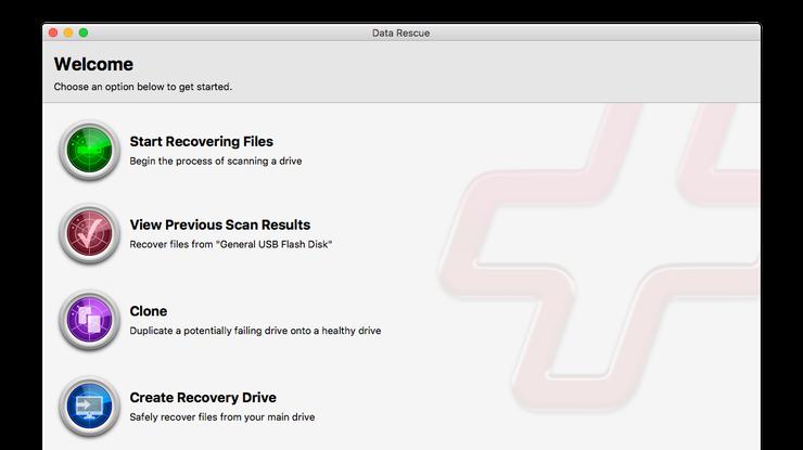 DataRescue - Les 5 meilleurs logiciels de récupération de données sur Mac en 2019