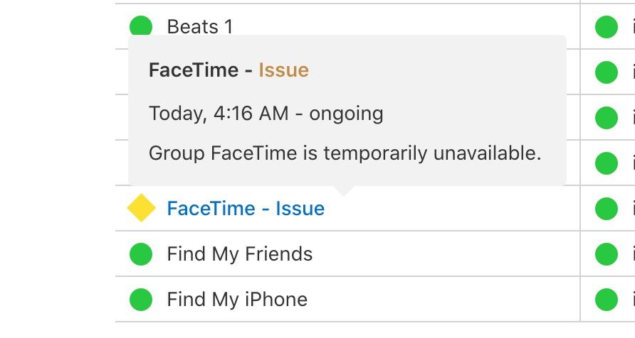FaceTime Temporairement Desactive - FaceTime : une faille permet d'écouter ses contacts à leur insu