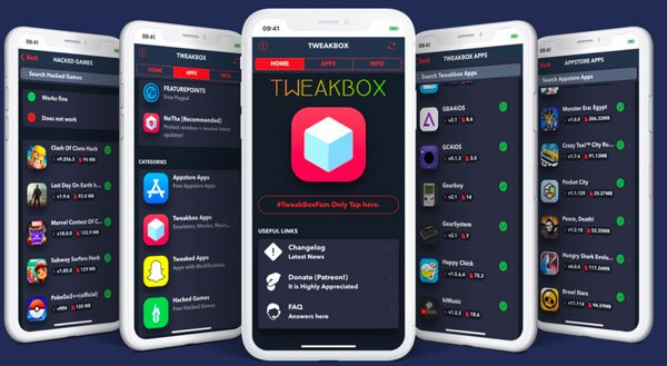 TweakBox - Apple veut tuer TutuApp, TweakBox, AppValley & Panda Helper