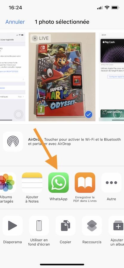 WhatsApp Ecran Partage iOS - iOS : un bug permet de voir les messages WhatsApp censés être protégés