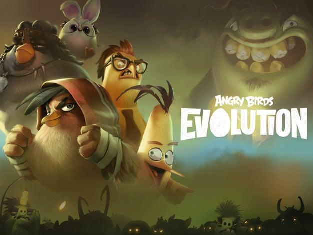 Jeu du jour : Angry Birds Evolution (iPhone & iPad – gratuit)