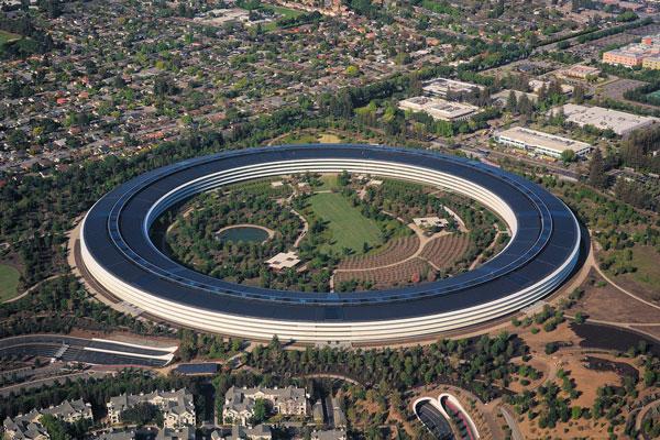 apple campus - «Site noir» d'Apple : des locaux tenus secrets et des employés sous-payés