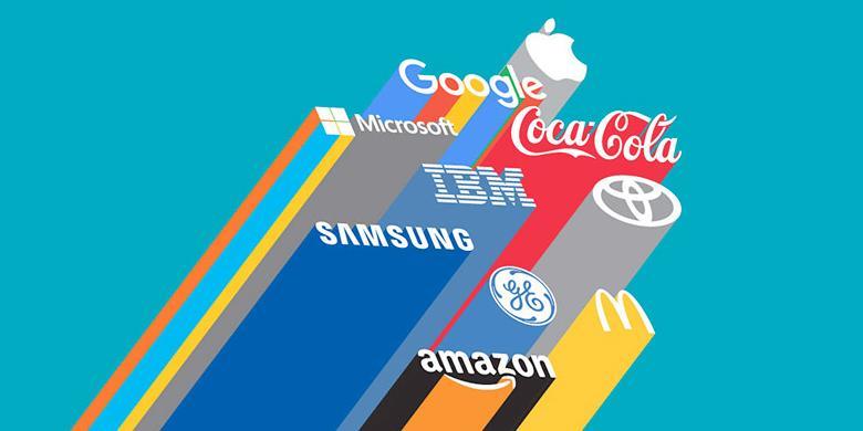 apple marques - Apple a écrasé Google et Microsoft au classement des marques les plus fortes