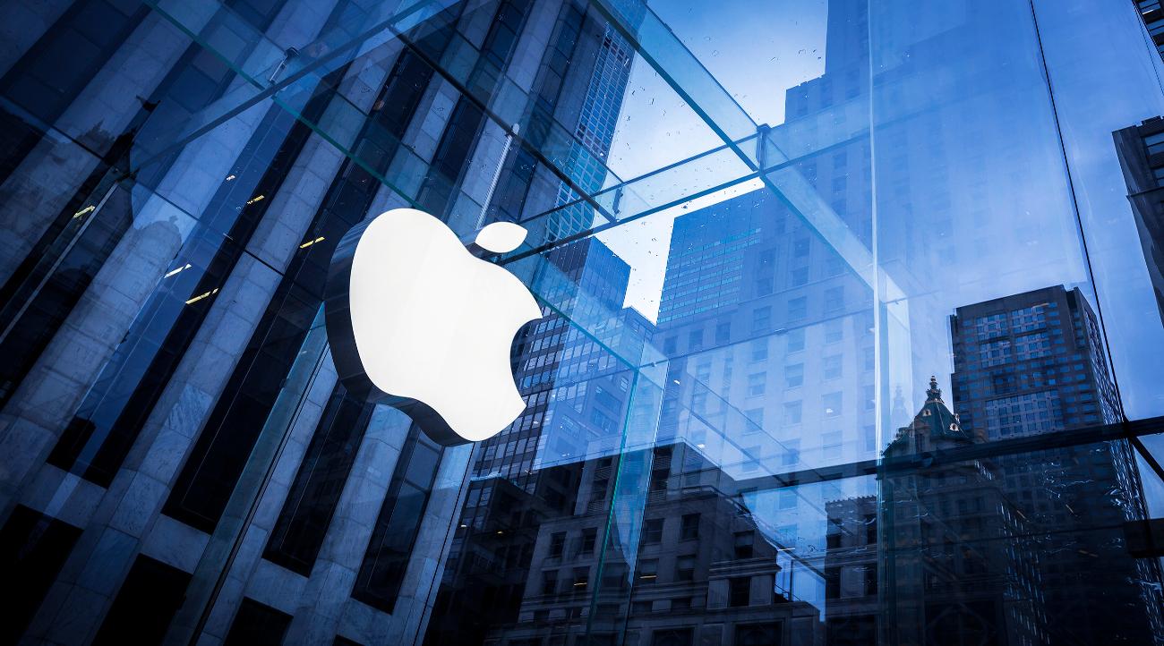 apple siege - Résultats financiers Apple: le chiffre d'affaires en hausse, les ventes de l'iPhone en baisse