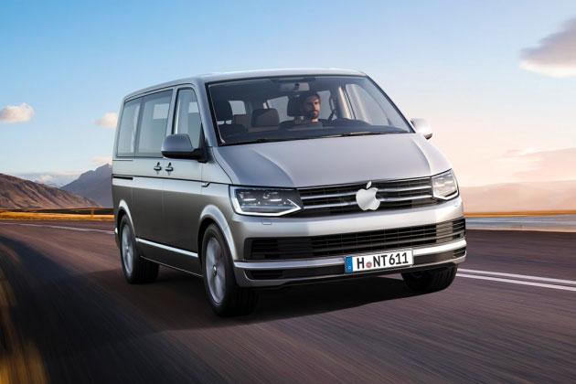 apple van - Apple Car : la marque à la pomme pencherait plutôt vers un Apple Van
