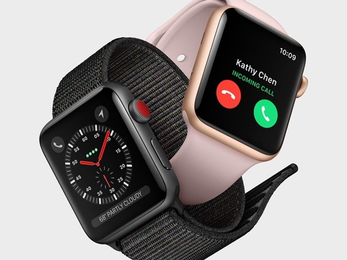 apple watch 1 - Apple Watch : la marque à la pomme travaillerait sur des écrans microLED