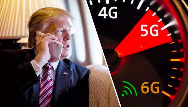 5G : Donald Trump veut de la 6G aux États-Unis «le plus vite possible» !