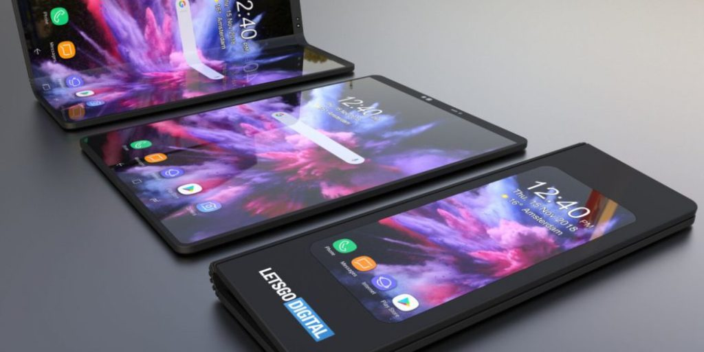 galaxy fold concept 1024x512 - Galaxy F : Samsung dévoilera son smartphone pliable le 20 février
