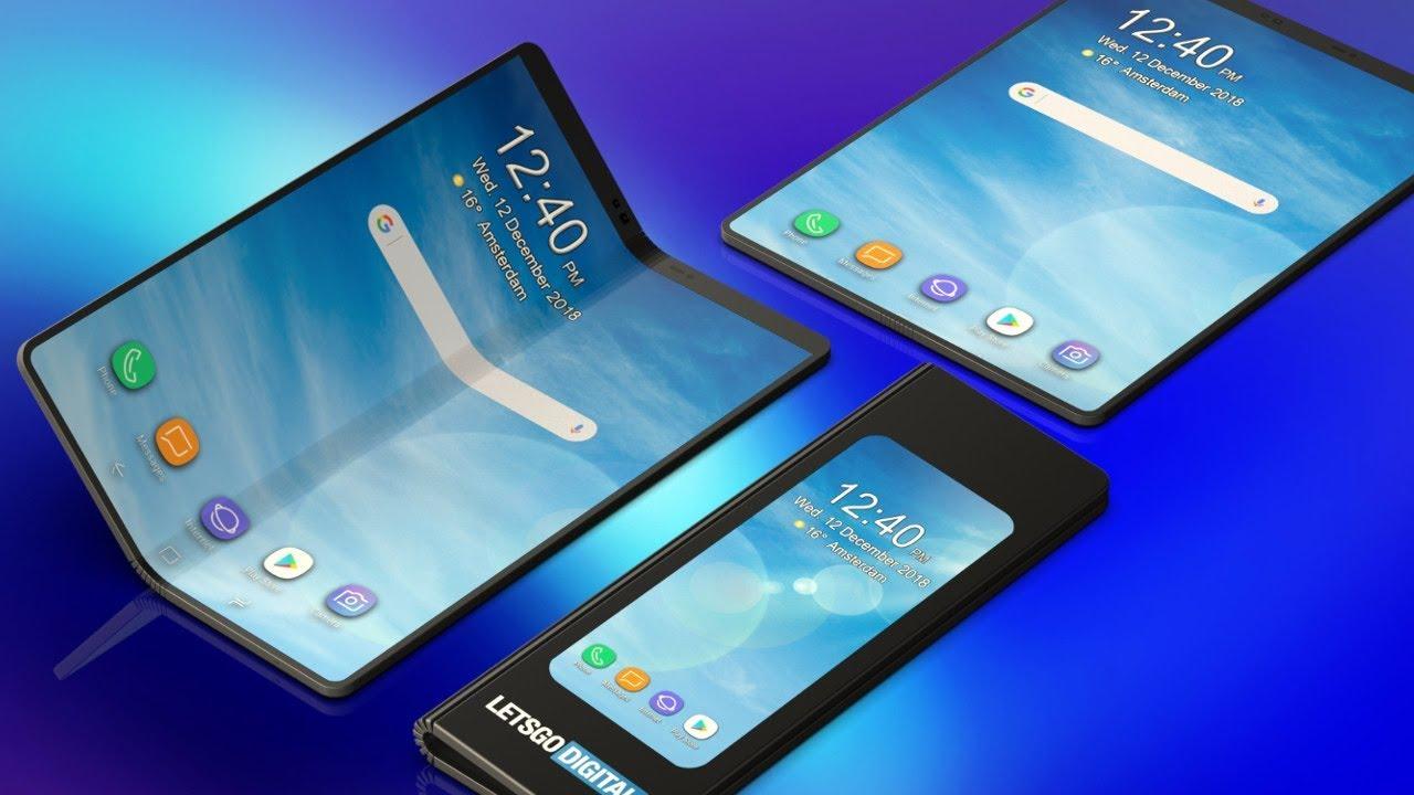 galaxy fold - Samsung prêt à fournir ses écrans pliables à Apple