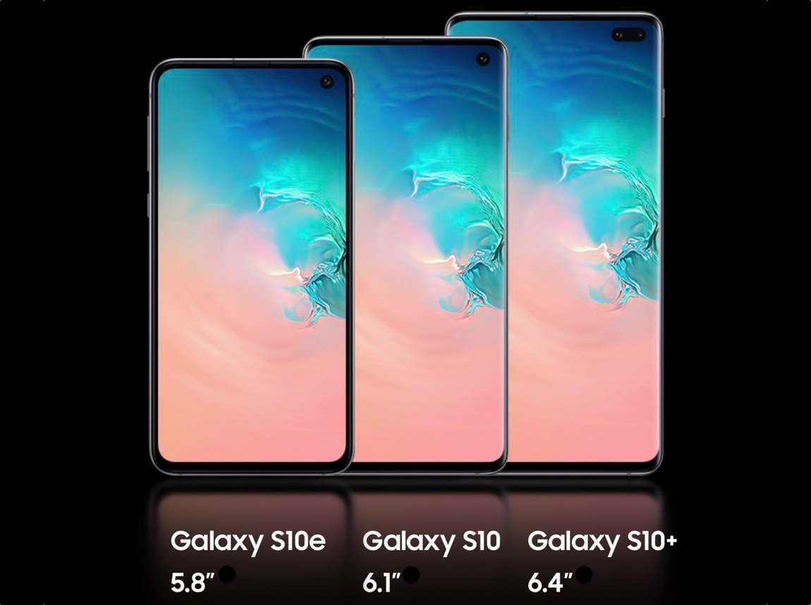 galaxy s 10 - Samsung Galaxy Fold et Galaxy S10 : le récapitulatif des caractéristiques
