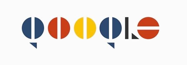 google logo concept - Les logos d'Apple, Google et Netflix revisités de façon minimaliste