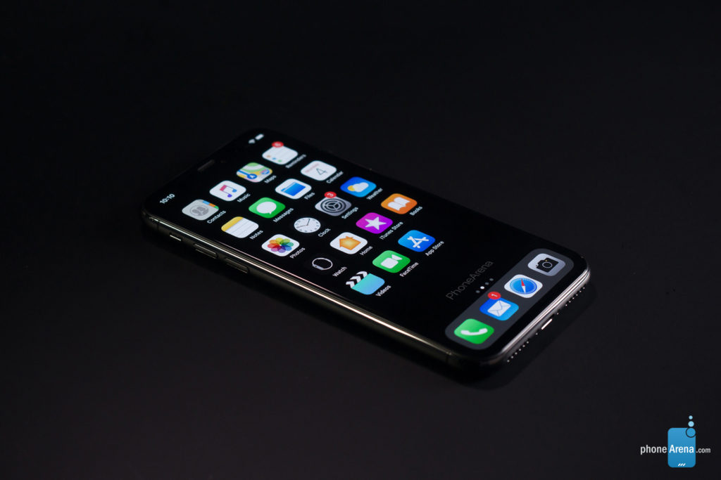 iPhone 11 XI rendu 3D sombre iOS 13 1 1024x683 - iOS 13 : un rendu 3D du mode sombre sur l'iPhone XI