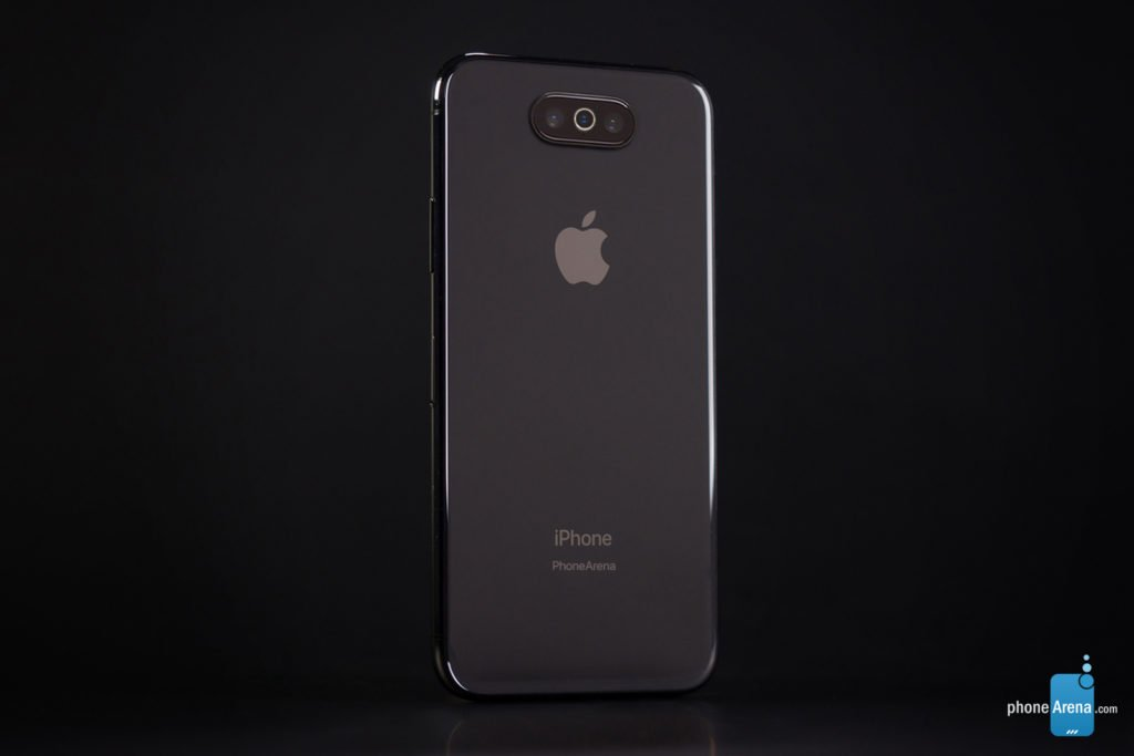 iPhone 11 XI rendu 3D sombre iOS 13 5 1024x683 - iOS 13 : un rendu 3D du mode sombre sur l'iPhone XI