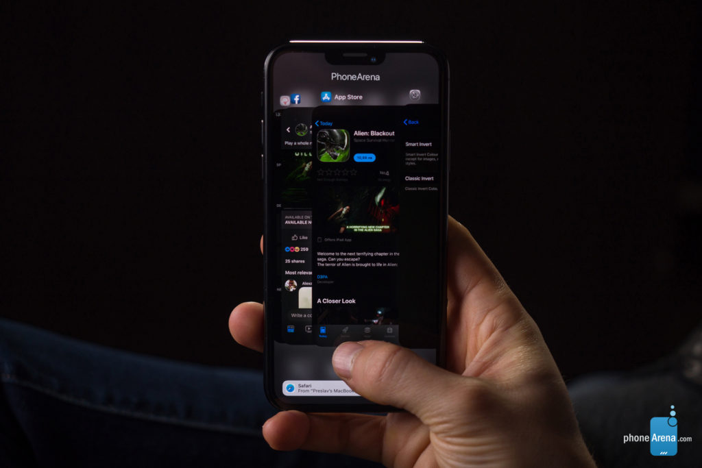 iPhone 11 XI rendu 3D sombre iOS 13 6 1024x683 - iOS 13 : un rendu 3D du mode sombre sur l'iPhone XI