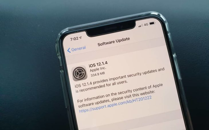 Apple déploie la mise à jour iOS 12.1.4 qui corrige la faille Facetime