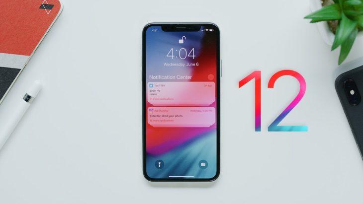 iOS 12 adopté sur 80% des iPhone et iPad !