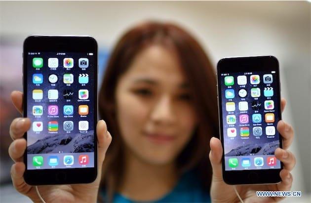 iphone chine ventes - Chine : les ventes d'iPhone repartent à la hausse suite à la réduction des prix