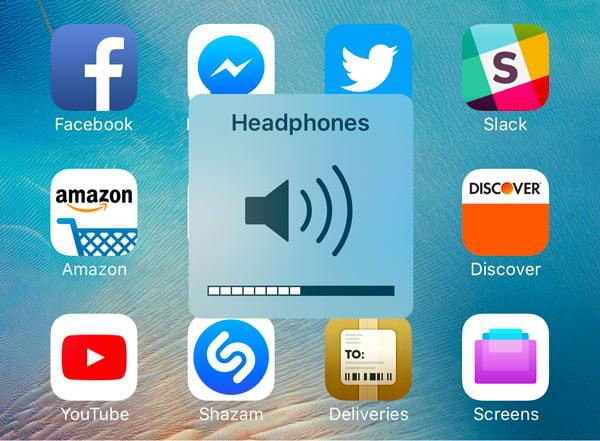 Apple veut faire disparaître le gros indicateur de volume, détesté de tous