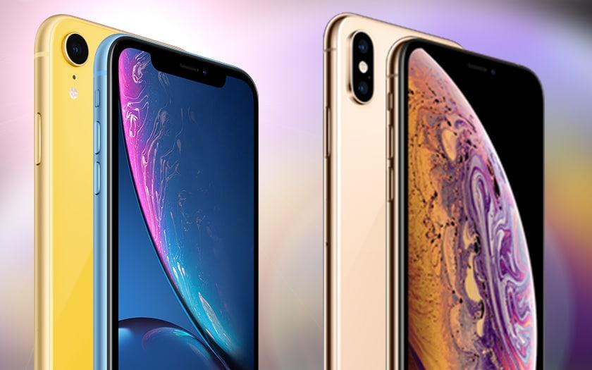 iphone xr xs ventes - USA : l'iPhone XR s'est mieux vendu que les iPhone XS & XS Max combinés