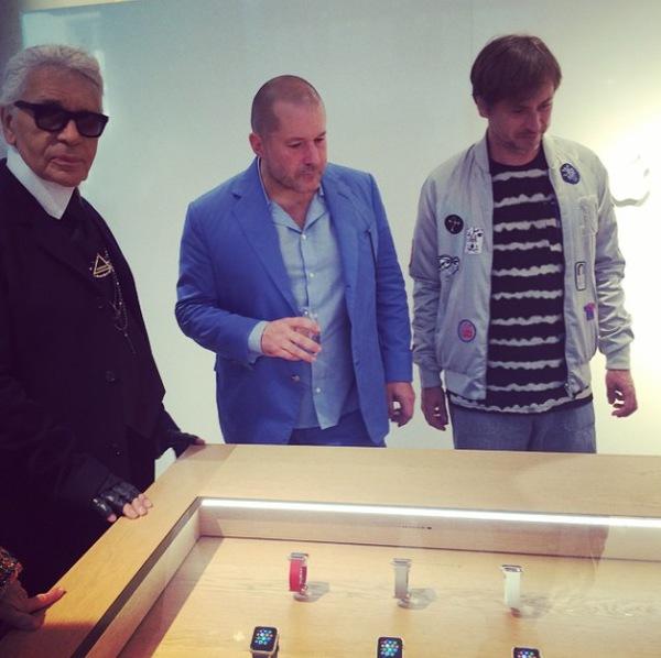 karl lagerfeld watch - Apple : Karl Lagarfeld était un grand amoureux de la marque à la pomme