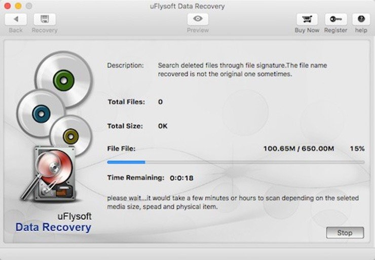 uFlySoft - Les 5 meilleurs logiciels de récupération de données sur Mac en 2019