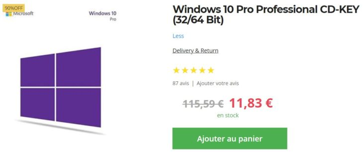 Goodoffer24.com : PUBG à 14€, Windows 10 Pro à 10€, …