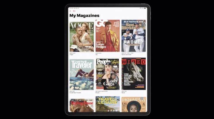 Apple News + : 300 magazines, des couvertures animées et 9,99$ par mois