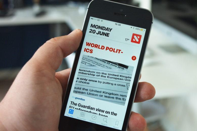 Apple news magazine - Le New York Times abandonne Apple News