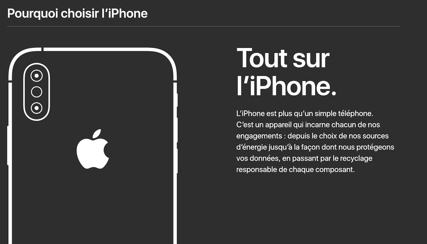 """Pourquoi Choisir iPhone - """"Pourquoi choisir l'iPhone"""" : la nouvelle campagne coup de poing d'Apple"""