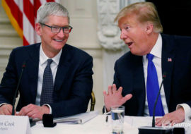 Donald Trump préfère les iPhone avec le bouton Home