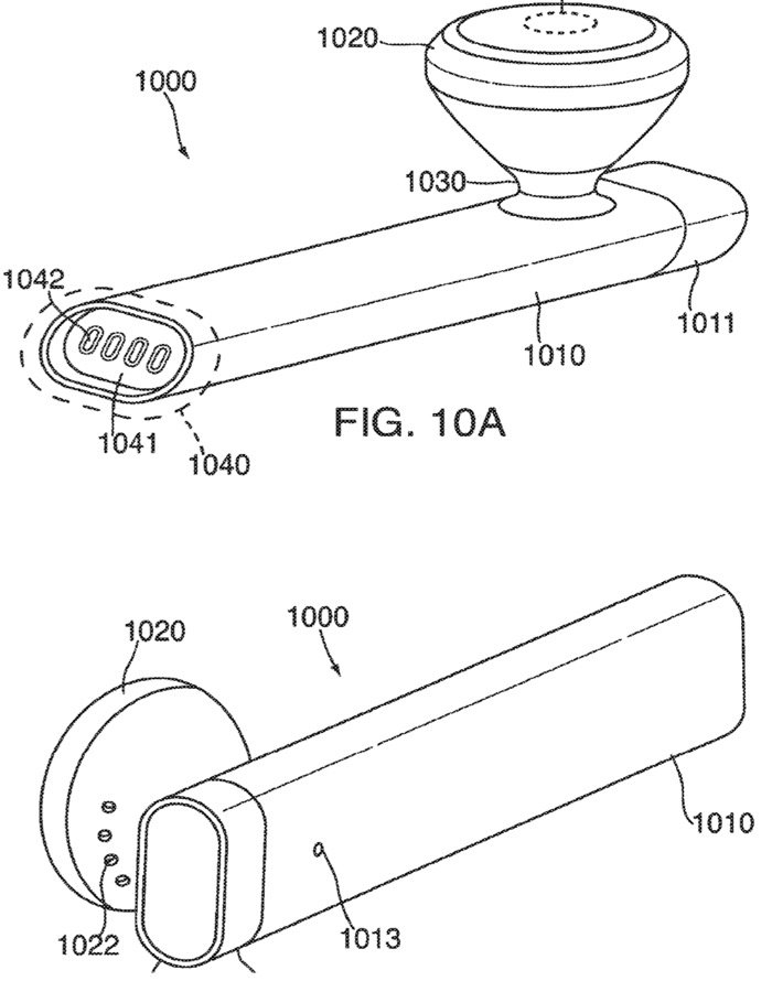 airpods brevet - Brevet Apple : des AirPods avec mini-écrans et boutons ?