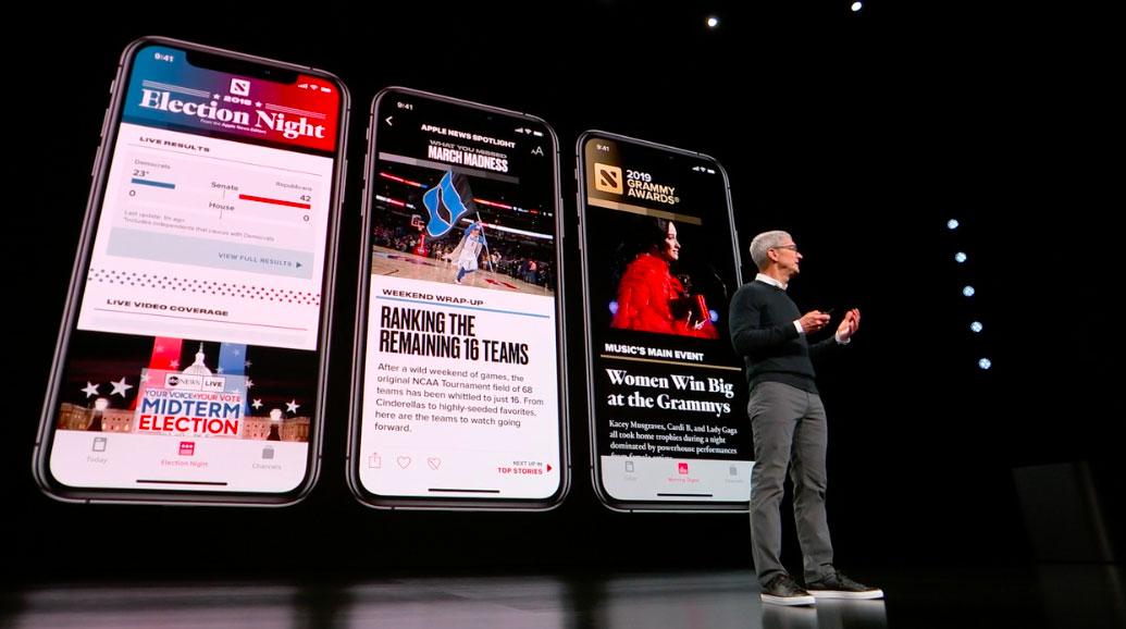 apple news on iphone - Apple News + : certains médias partenaires en rage contre Apple