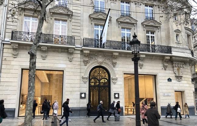 apple store champs elysees - La keynote du 25 mars sera diffusée en direct dans des Apple Store en France