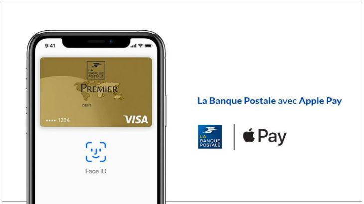 Apple Pay arrive enfin chez La Banque Postale