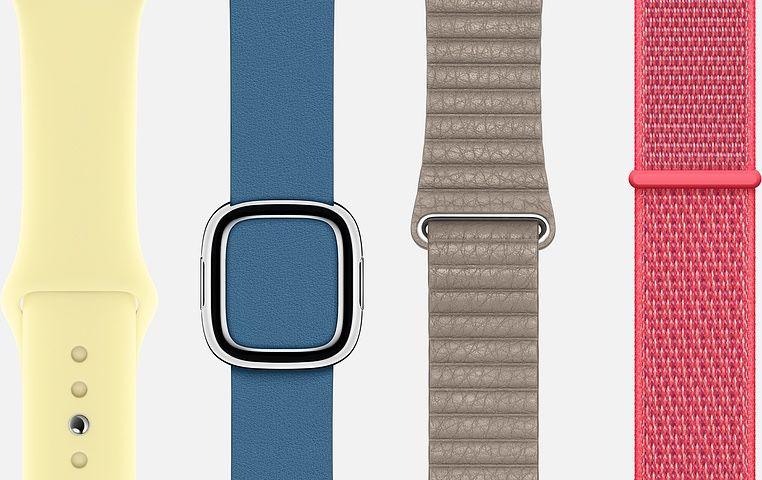 bracelets apple watch - Apple Watch : les nouveaux bracelets de Printemps vont bientôt débarquer