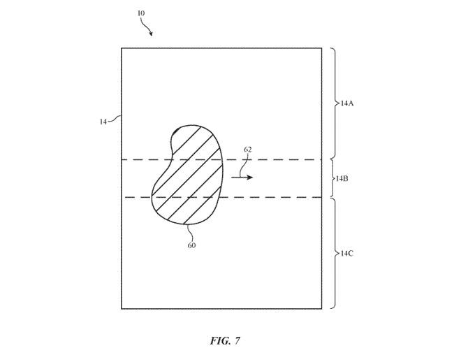 brevet iphone pliable 2 - Apple : vers un iPhone pliable avec écran chauffant ?