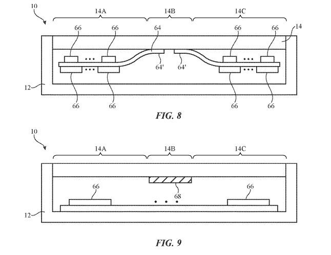 brevet iphone pliable - Apple : vers un iPhone pliable avec écran chauffant ?