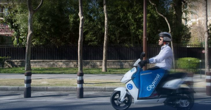Cityscoot désormais disponible 24h/24 7j/7 !