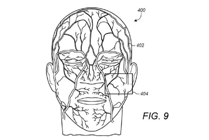 Brevet : et si Face ID sécurisait votre iPhone grâce aux veines de votre visage ?