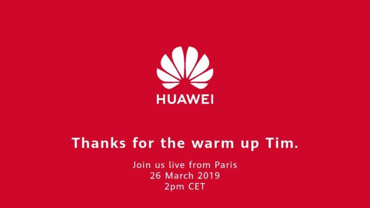 Conférence Huawei : la marque chinoise «remercie» Apple pour sa keynote