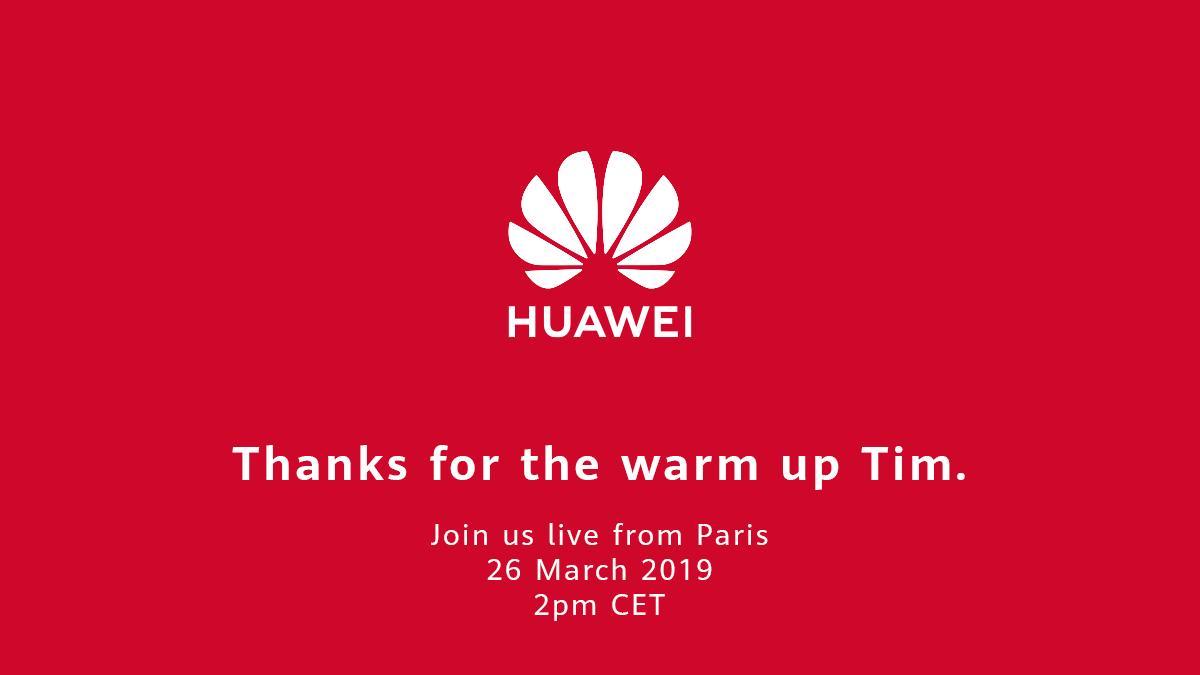 huawei - Conférence Huawei : la marque chinoise «remercie» Apple pour sa keynote
