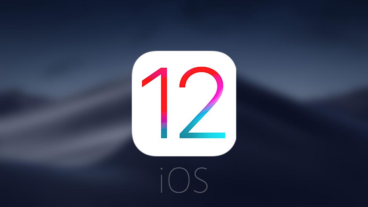 iOS 12 Logo - iOS 12.3 : la toute première bêta est déjà disponible !