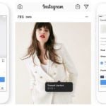 instagram checkout zara 150x150 - SnapSeed : désormais gratuite pour concurrencer Instagram
