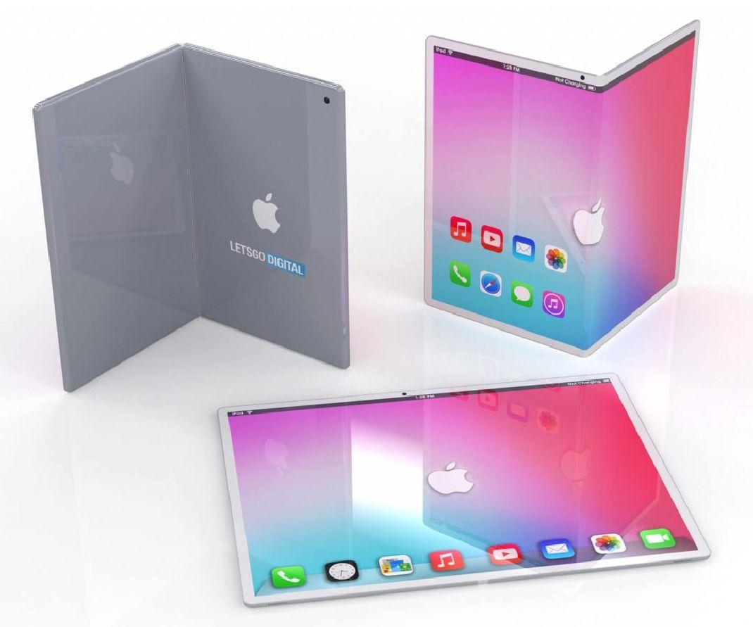 ipad pliable concept  - iPad pliable : ce concept nous met l'eau à la bouche