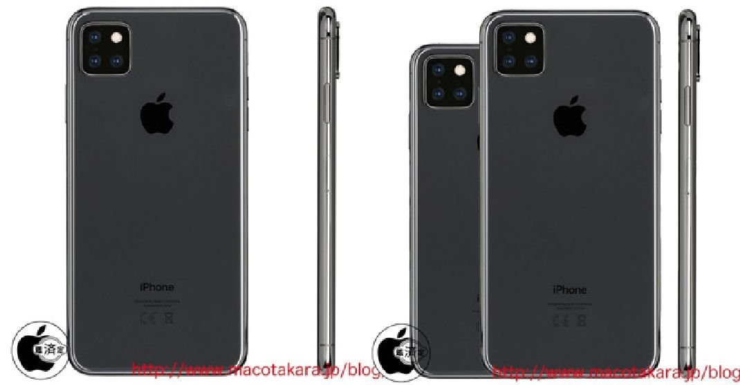 Apple : un module photo carré à triple capteurs pour l'iPhone XI ?