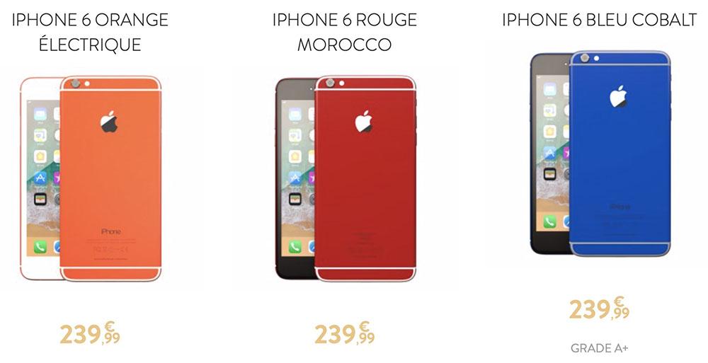 remade iphone reconditionnes personnalises - Une entreprise française reconditionne des iPhone en les rendant quasi-uniques